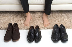 Which pair? Royalty Free Stock Photo