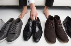 Which pair? Stock Image