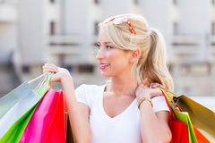 Which Shop To Enter Next? Stock Photos