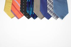 Which tie today..? Stock Photos