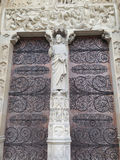 Which was named the most beautiful architecture,Notre Dame de Pa Royalty Free Stock Photos
