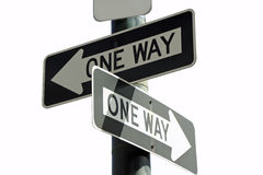Which way? Royalty Free Stock Photos