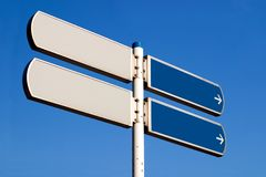 Which way? Royalty Free Stock Photography