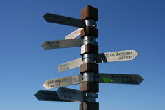 Which way? Royalty Free Stock Image
