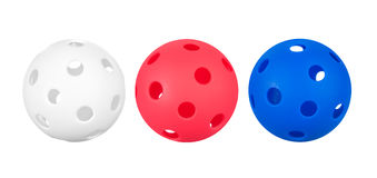 Whiffle balls Royalty Free Stock Photo