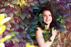 Whild Grape goddess Royalty Free Stock Image