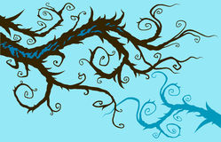 Whimsical branch Royalty Free Stock Photos