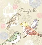 Whimsical garden theme design vector illustration