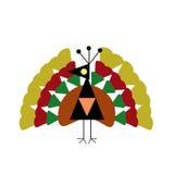 Whimsical Holiday Turkey Stock Photography