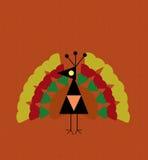 Whimsical Holiday Turkey Stock Photo