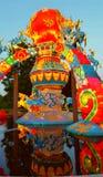 Whimsical Merry-go-round  Lantern Stock Photo