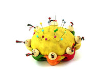 Whimsical old pin cushion Stock Photography