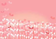 Whimsical Pink Background. Illustration of a soft and pink background royalty free illustration
