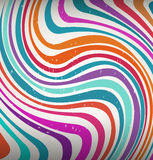 Whimsical swirl of colors Stock Photography