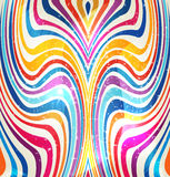 Whimsical swirl of colors Royalty Free Stock Image
