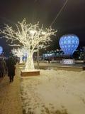 Whinter στη Μόσχα στοκ φωτογραφίες