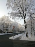 Whinter στη Μόσχα στοκ εικόνες