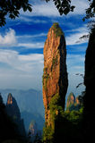 Whip as long as the stones. China's Hunan Province has called Mangshan a mountain, where the scenery is like painting stroke by the same beautiful, one of the Royalty Free Stock Photo