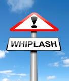 Whiplash concept. Stock Photos