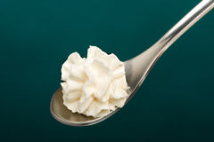 Whipped cream Stock Image