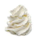 Whipped cream royalty free stock image