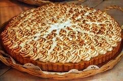 Whipped cream cake Stock Photo