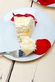 Whipped cream mango cake Stock Images