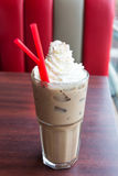 Whipped cream Mocha coffee Stock Photography