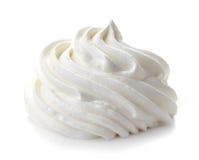 Free Whipped Cream On White Background Stock Photo - 66581840
