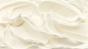 Whipped cream texture royalty free stock photos