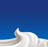 Whipped cream vector Royalty Free Stock Photos