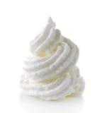 Whipped eggs whites stock photo