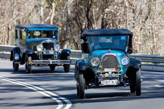 1928 Whippet 96 Open tweepersoonsauto Stock Foto's