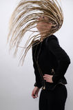 Whipping hair Royalty Free Stock Image