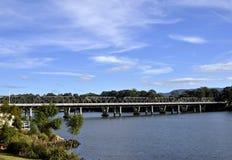 Whipple truss bridge Nowra Royalty Free Stock Image