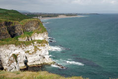 Whire Rocks Cliffs Stock Photography