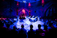 Whiriling dervishes Royalty Free Stock Photo