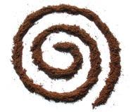 whirl кофе стоковое фото rf