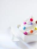 whirl мороженого конфеты цветастый Стоковое фото RF