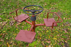 Whirligig in the backyard Stock Photos