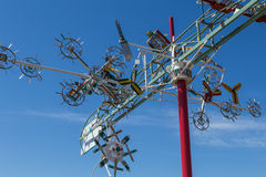 Whirligig Closeup Stock Images