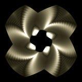 Whirligig del platino Fotografie Stock