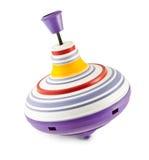 Whirligig dla dzieci na białym tle. Fotografia Stock