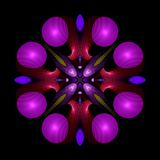 whirligig för mandalareptilianspiral vektor illustrationer
