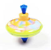 Whirligig (motion). Whirligig toy in a motion Stock Image