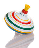 Whirligig top with reflection Royalty Free Stock Photo