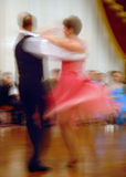 Whirling Ballroom Dancers Royalty Free Stock Photo