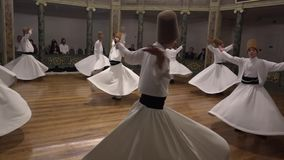 Whirling Dervish Start.