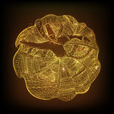 Whirling dervish for Islamic Festival celebration. Stock Photo