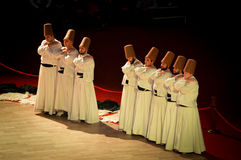 Whirling dervish Royalty Free Stock Photos